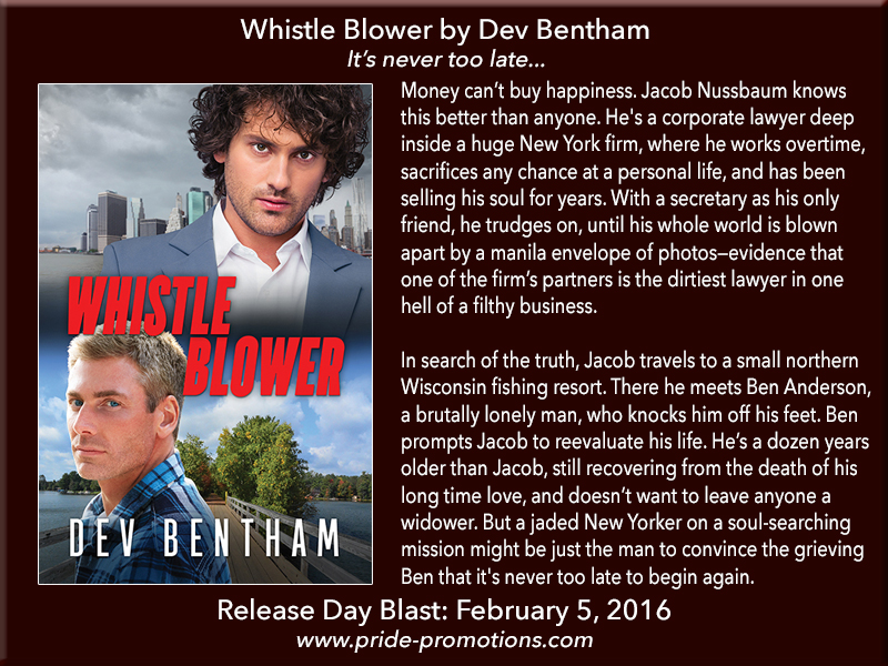 BOOK BLAST: Whistle Blower by Dev Bentham
