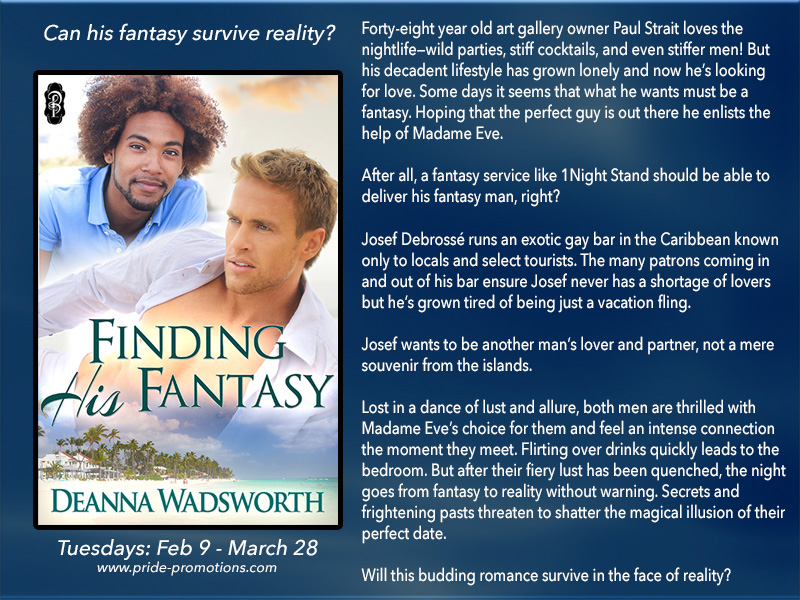 BLOG TOUR: Finding His Fantasy by Deanna Wadsworth