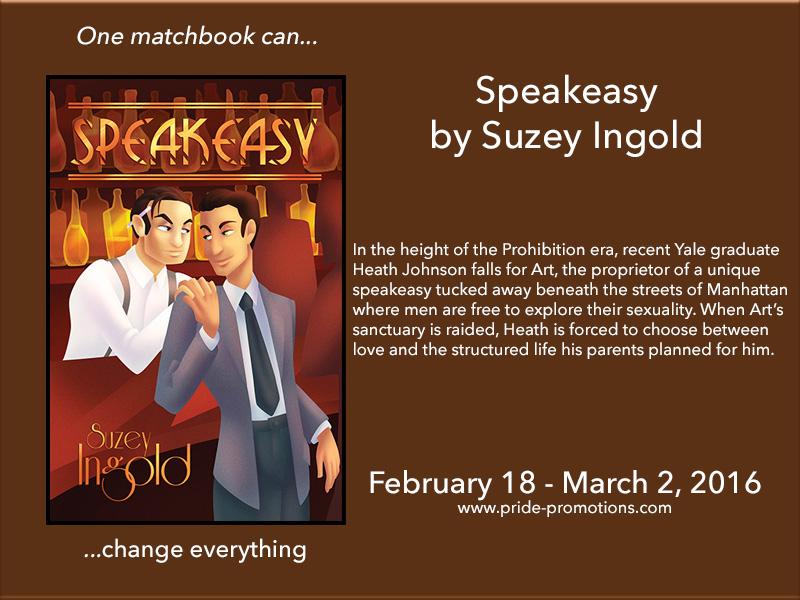 BLOG TOUR: Speakeasy by Suzey Ingold