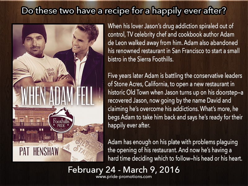 BLOG TOUR: When Adam Fell by Pat Henshaw