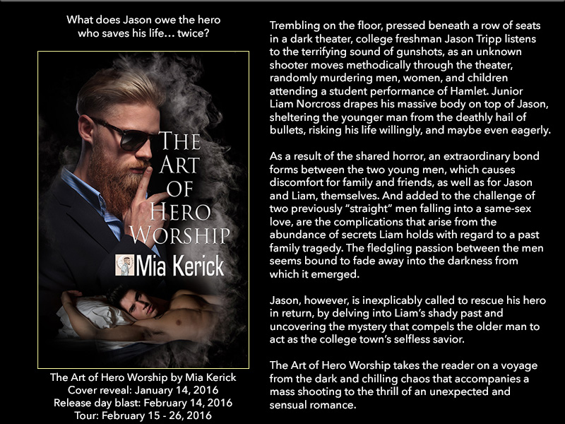 BOOK BLAST: The Art of Hero Worship by Mia Kerick