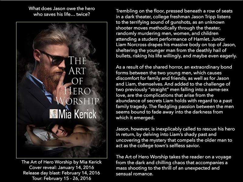 BOOK BLAST: The Art of Hero Worship by Mia Kerick