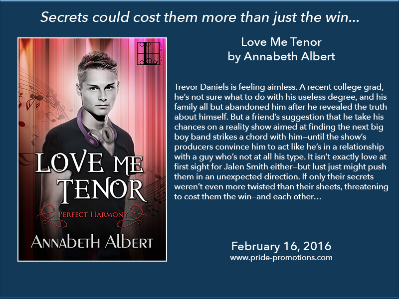 BOOK BLAST: Love Me Tenor by Annabeth Albert