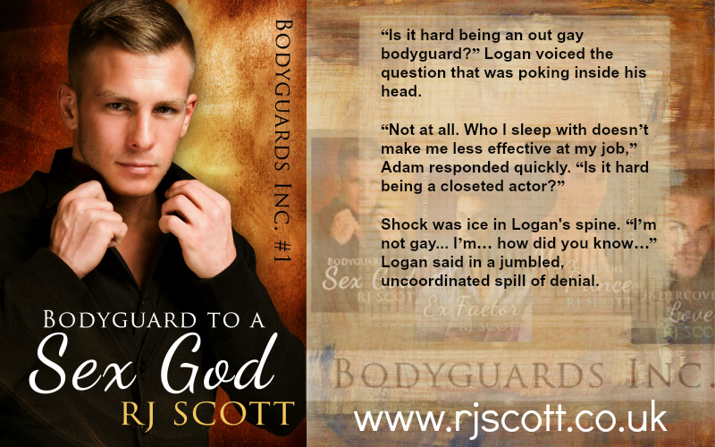 BLOG TOUR: Bodyguard to a Sex God by RJ Scott