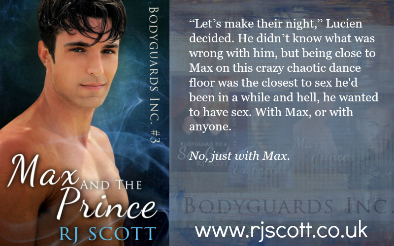 BLOG TOUR: Max and The Prince by RJ Scott