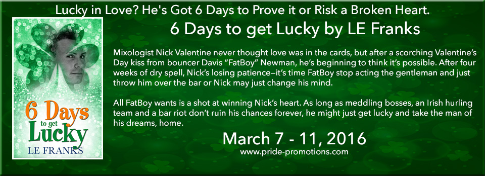 Buy 6 Days to Get Lucky by LE Franks on Amazon
