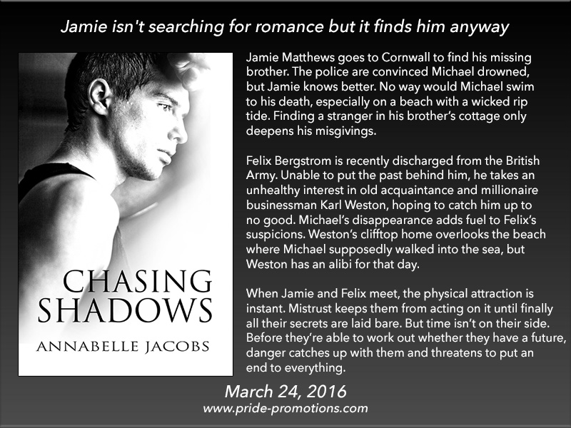 BOOK BLAST: Chasing Shadows by Annabelle Jacobs