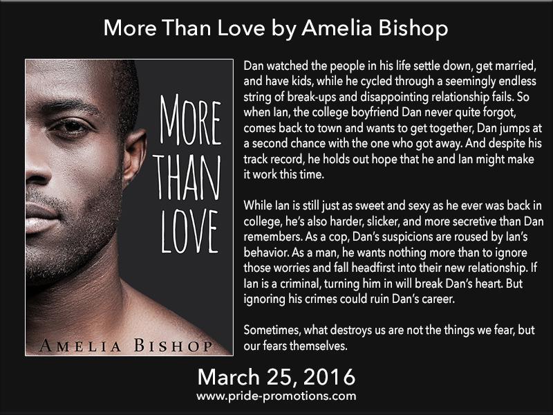 BOOK BLAST: More Than Love by Amelia Bishop