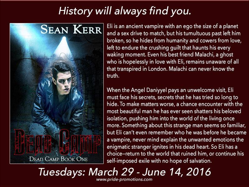 BLOG TOUR: Dead Camp by Sean Kerr