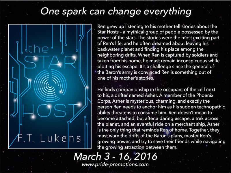 BLOG TOUR: The Star Host by F.T. Lukens