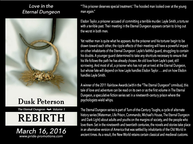 BOOK BLAST: Rebirth by Dusk Peterson