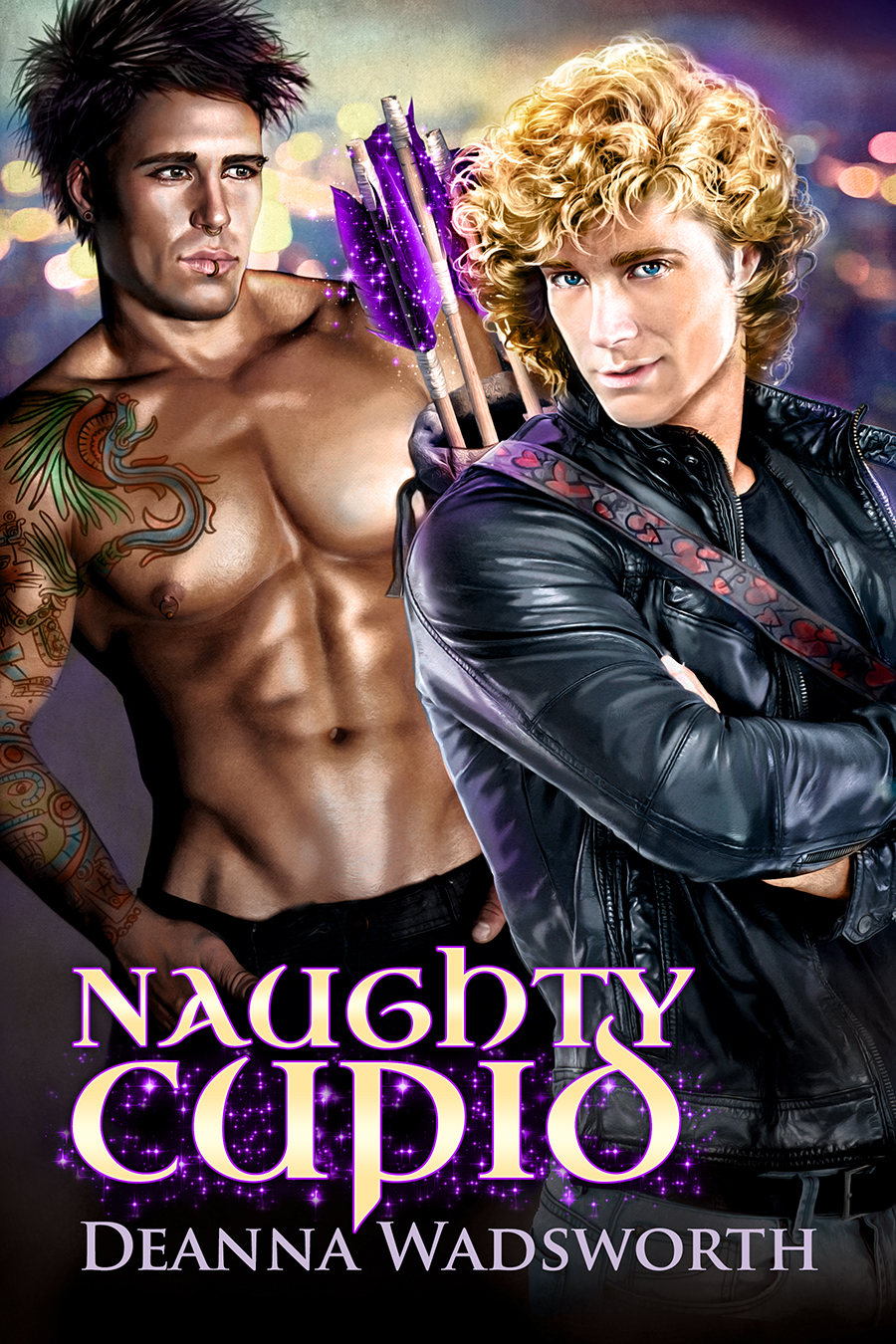 COVER REVEAL: Naughty Cupid by Deanna Wadsworth