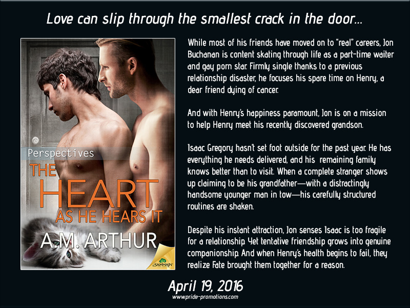 BOOK BLAST: The Heart As He Hears It by A.M. Arthur