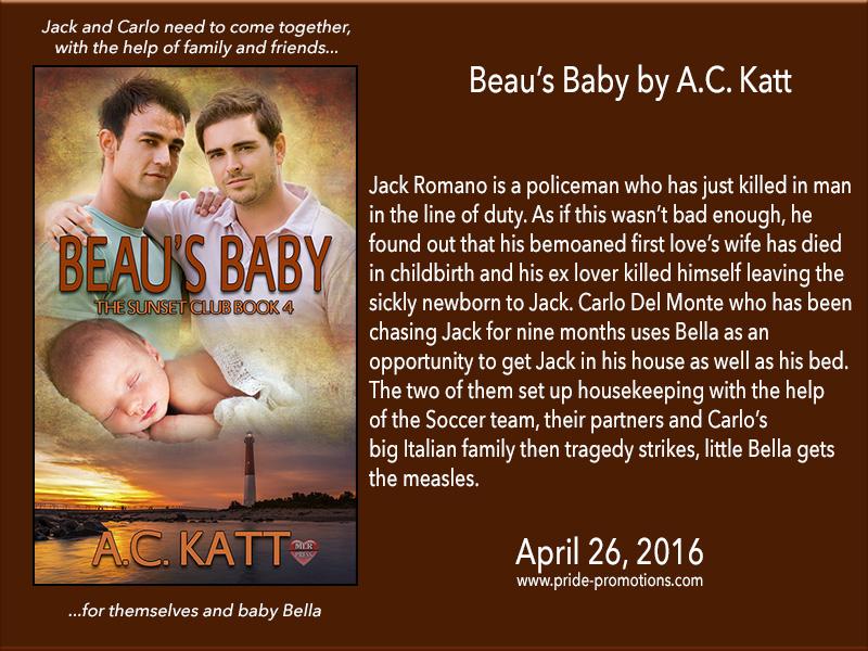 BOOK BLAST: Beau's Baby by AC Katt