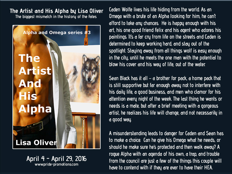 BLOG TOUR: The Artist and His Alpha by Lisa Oliver