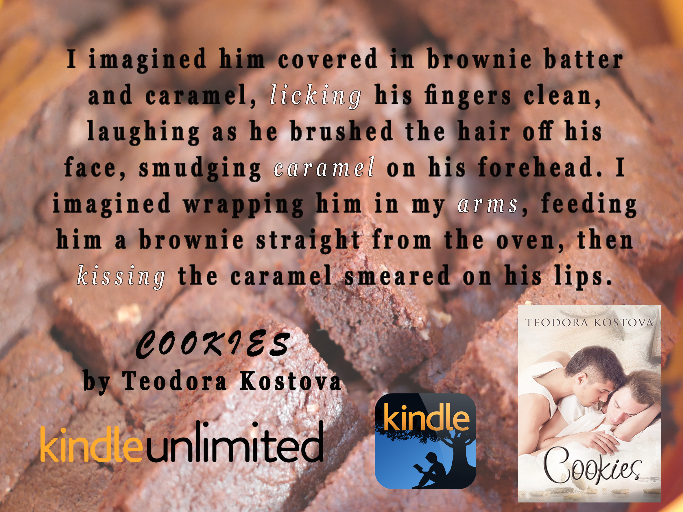 BOOK BLAST: Cookies by Teodora Kostova