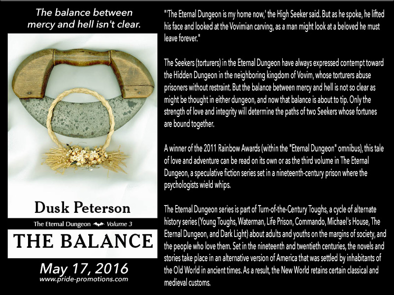 BLOG TOUR: The Balance by Dusk Peterson