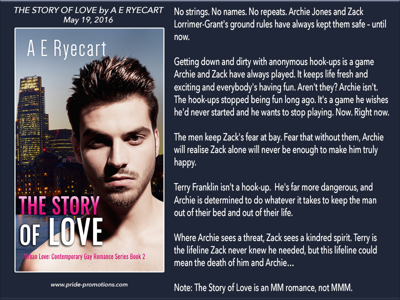 BOOK BLAST: The Story of Love by A E Ryecart