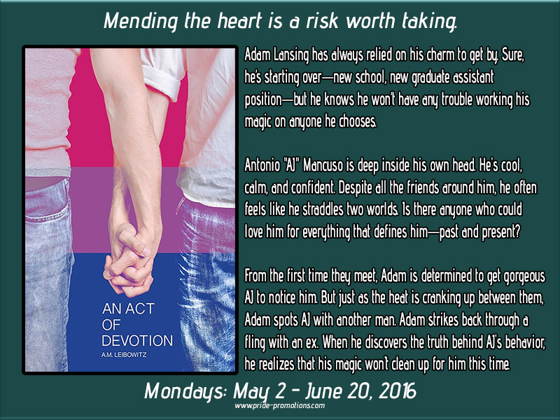 BLOG TOUR: An Act of Devotion by A.M. Leibowitz