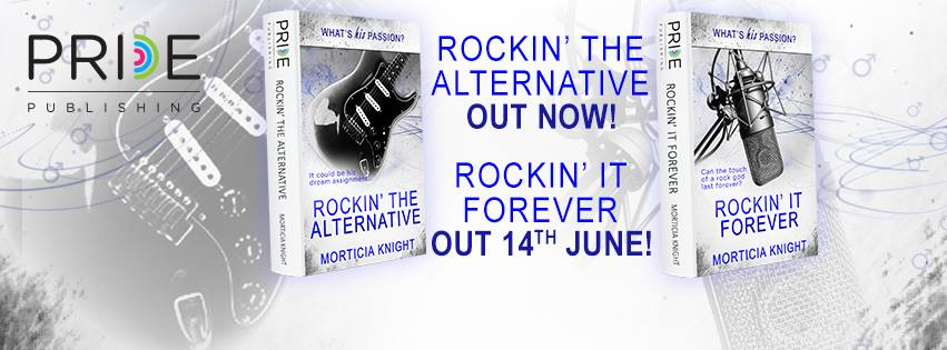 BLOG TOUR: Rockin' it Forever by Morticia Knight