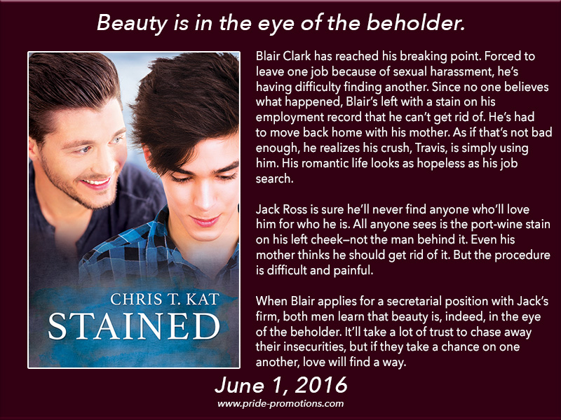 BOOK BLAST: Stained by Chris T. Kat