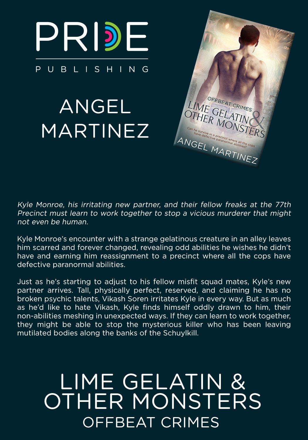 BLOG TOUR: Lime Gelatin and Other Monsters by Angel Martinez