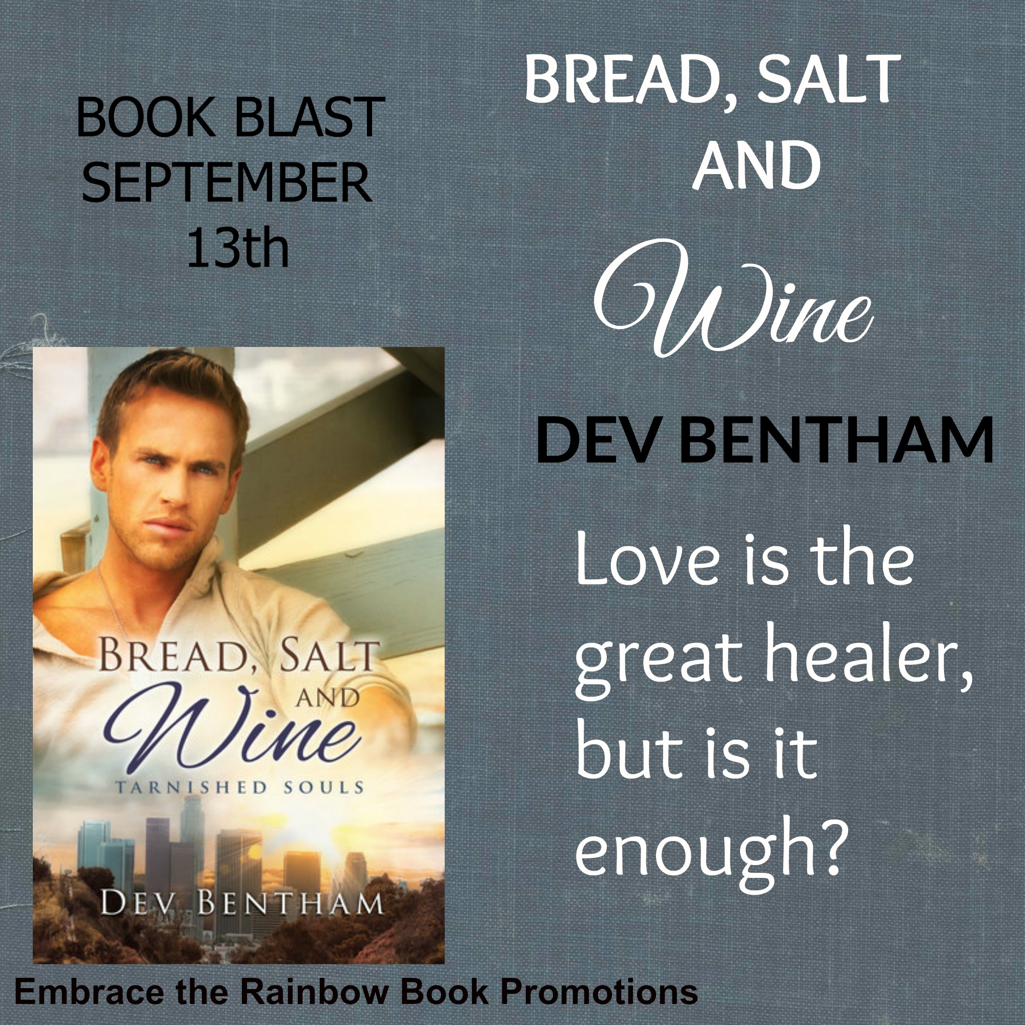 BLOG TOUR: Bread, Salt & Wine by Dev Bentham