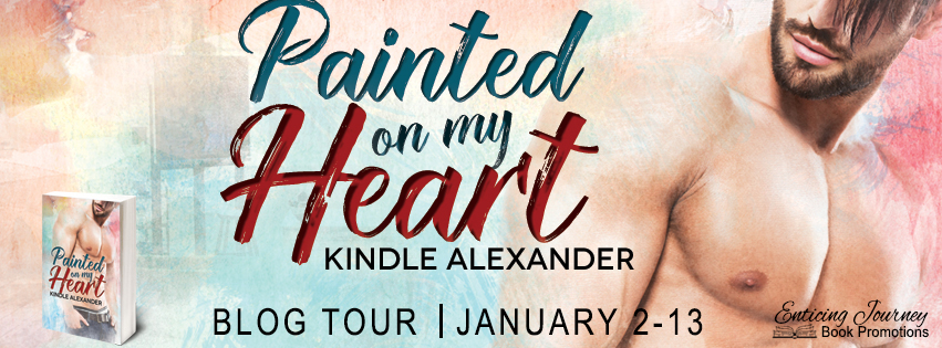 Get Painted On My Heart by Kindle Alexander on Amazon & Kindle Unlimited