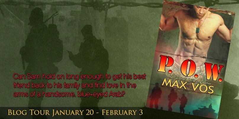 BLOG TOUR: P.O.W. by Max Vos