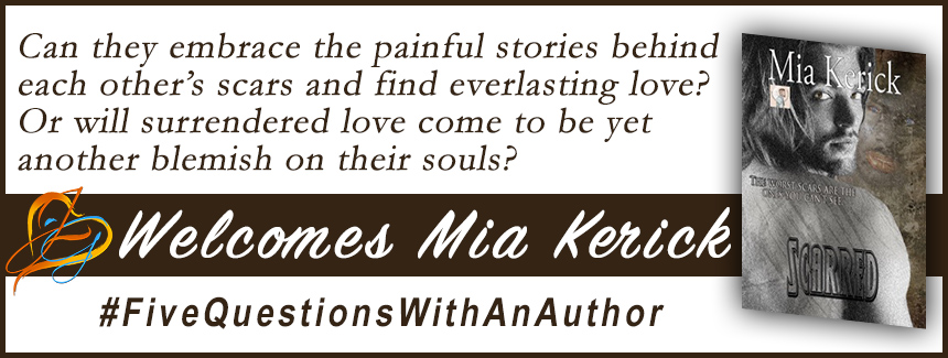 INTERVIEW & BOOK REVIEW: Scarred with Mia Kerick