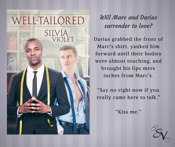 BLOG TOUR: Well-Tailored by Silvia Violet