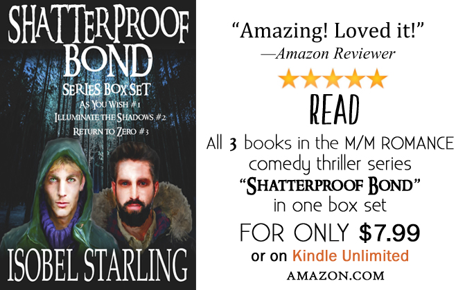 SERIES SPOTLIGHT: Shatterproof Bond Series Box Set by Isobel Starling