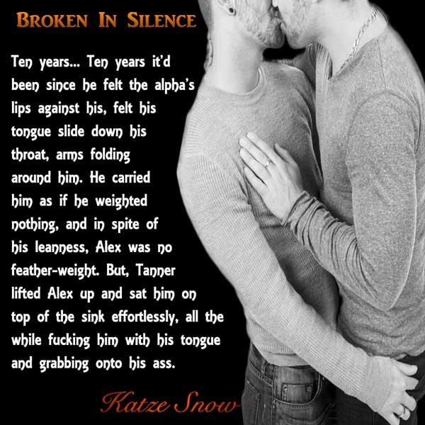 Broken in Silence by Katze Snow