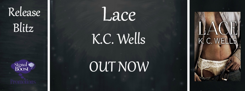 Get Lace by K.C. Wells on Amazon & Kindle Unlimited