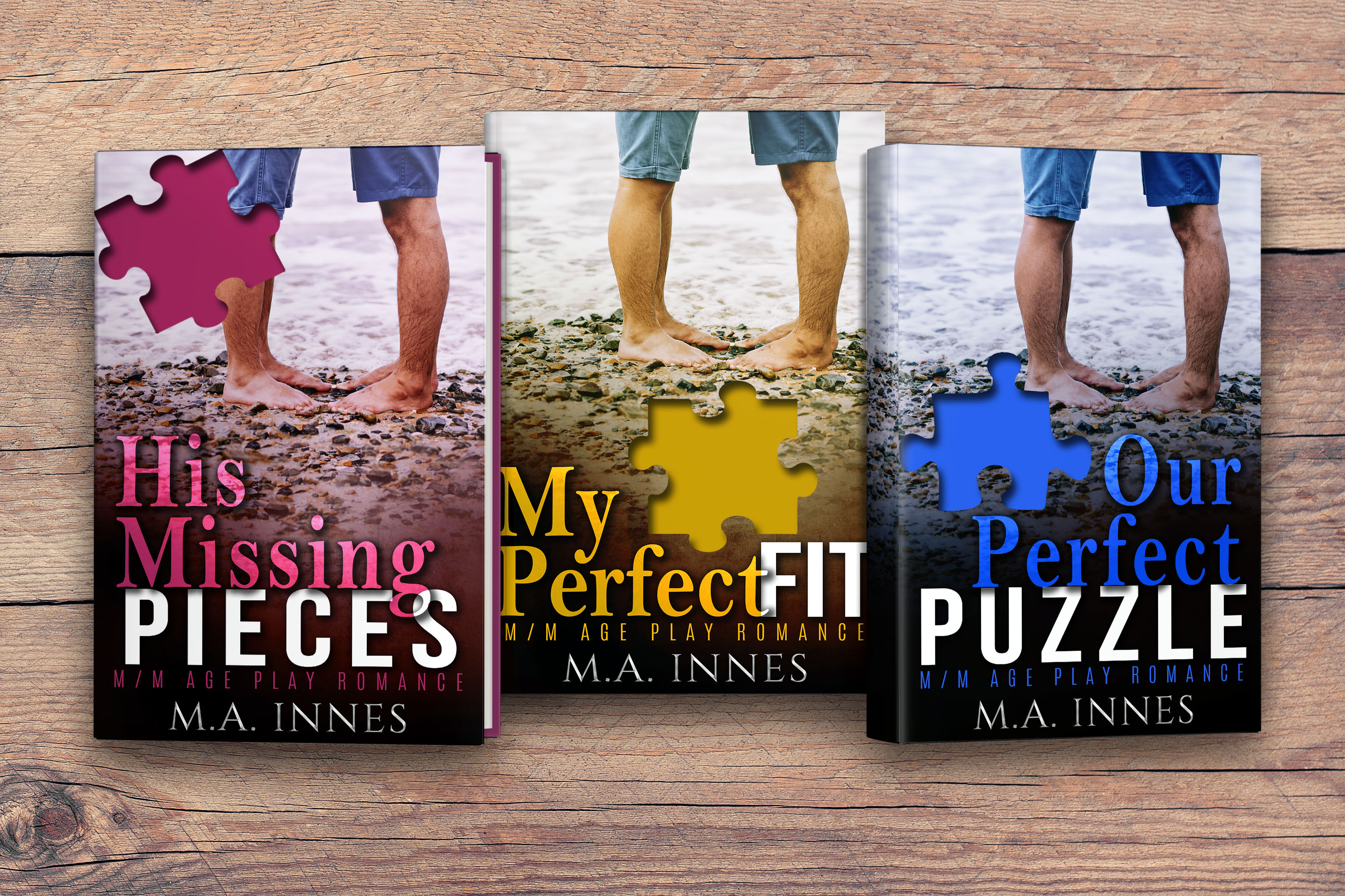 Get His Missing Pieces by M.A. Innes on Amazon & Kindle Unlimited