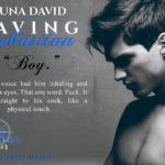 Saving Sebastian by Luna David