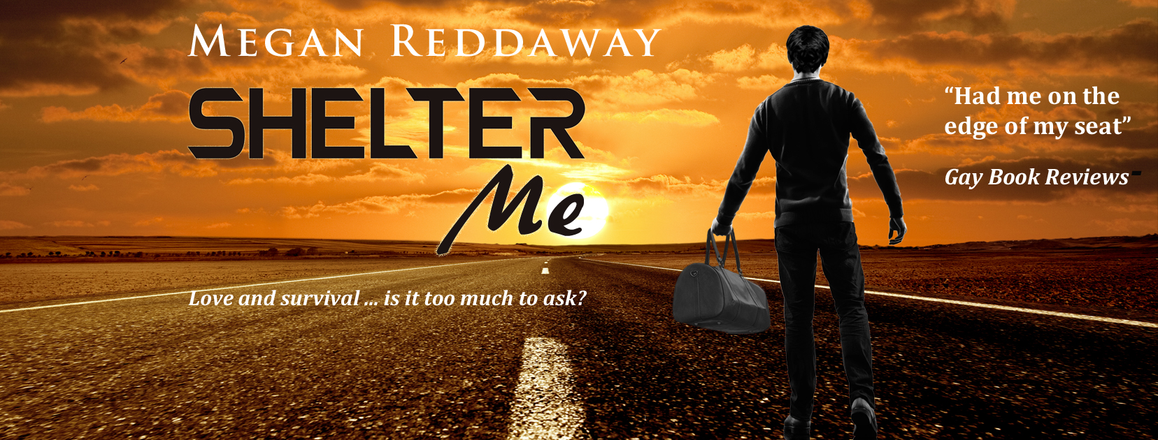 Get Shelter Me by Megan Reddaway on Amazon & Kindle Unlimited
