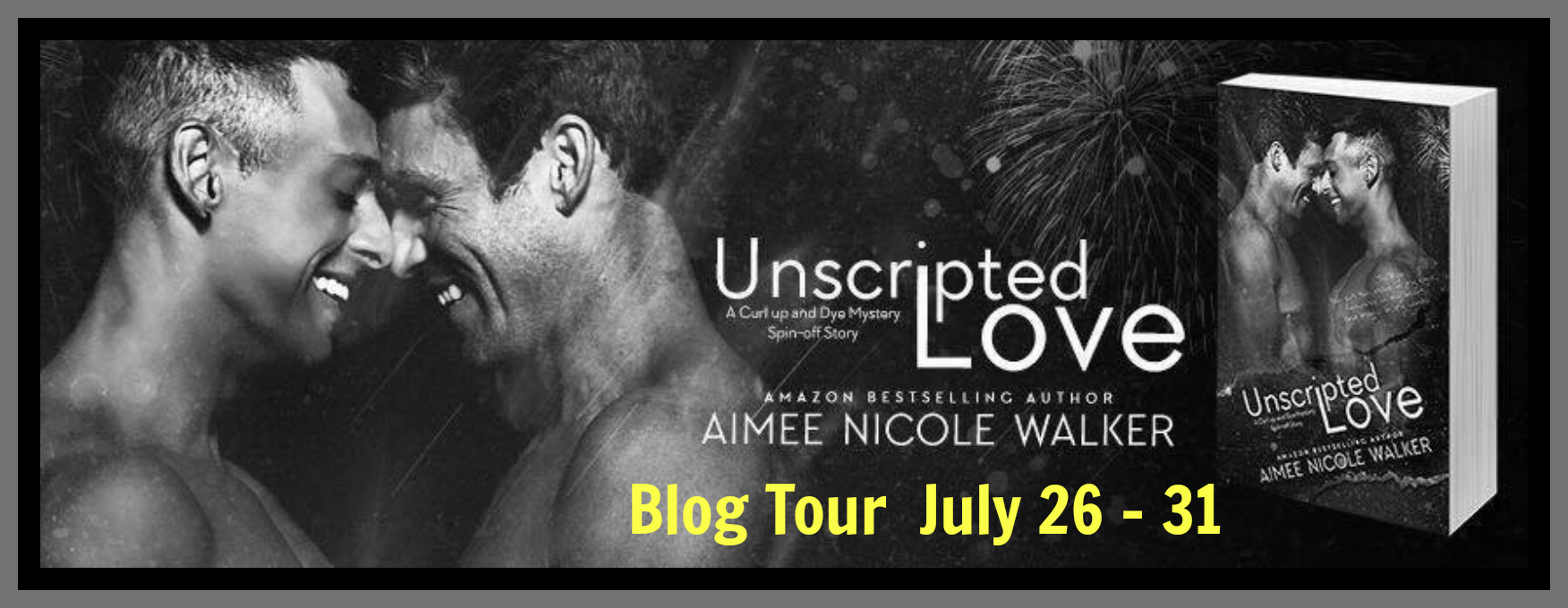 Get Unscripted Love by Aimee Nicole Walker on Amazon & Kindle Unlimited