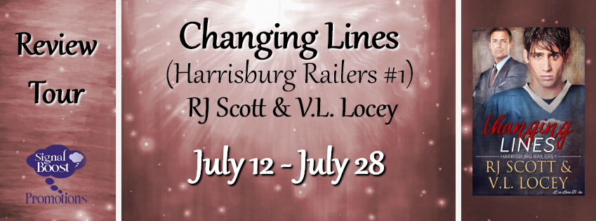 BLOG TOUR: Changing Lines by RJ Scott & V.L. Locey