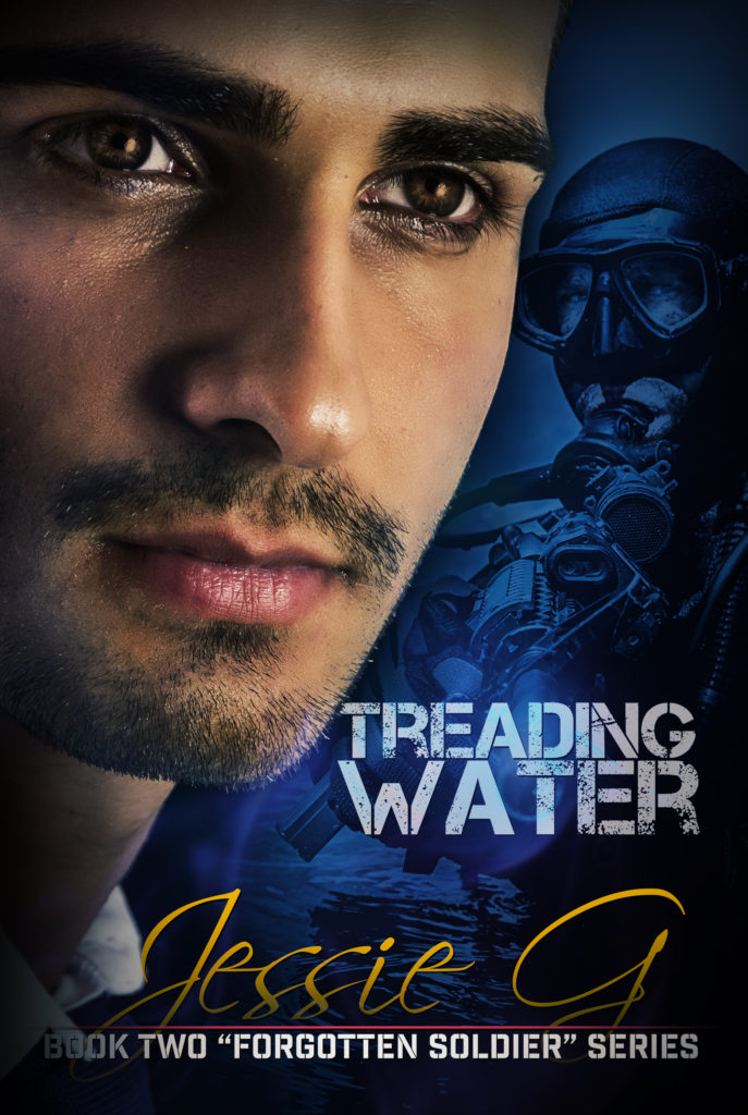 COVER REVEAL: Treading Water by Jessie G