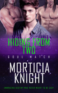 Buy Hiding from Two by Morticia Knight on Amazon