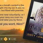 Facing West by Lucy Lennox