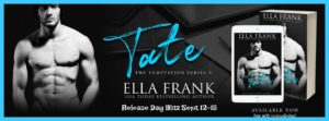 Get Tate by Ella Frank on Amazon & Kindle Unlimited