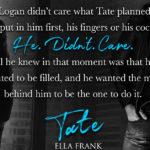 Tate by Ella Frank