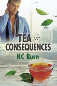 Buy Tea or Consequences by KC Burn on Amazon