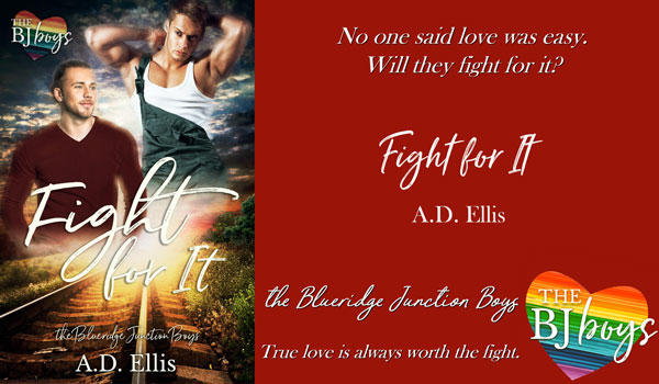 Get Fight For It by A.D. Ellis on Amazon & Kindle Unlimited