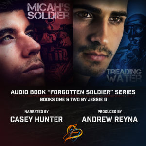 Buy the Treading Water ft. Micah's Soldier Audiobook by Jessie G on Amazon