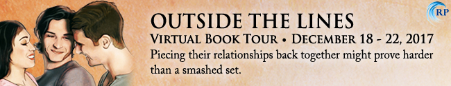 Follow the tour for Outside the Lines by Anna Zabo