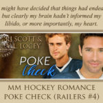 NEW RELEASE REVIEW: Poke Check by RJ Scott & V.L. Locey