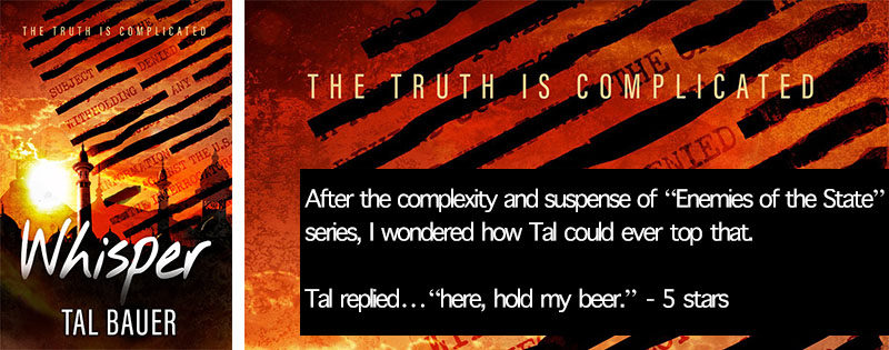 NEW RELEASE REVIEW: Whisper by Tal Bauer